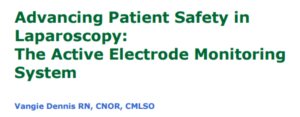 Advancing patient safety in laparoscopy